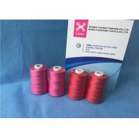 Wholesale 100% Polyester Staple Fiber Sewing​ TFO Yarn , Dyed Ring Polyester Core Spun Thread from china suppliers