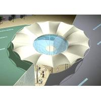 Wholesale Round Shape Swimming Pool Tents , Tension Fabric Shade Structures Canopy from china suppliers