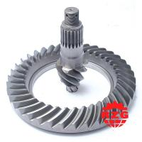 Wholesale Bevel Pinion And Crown Wheel Rear Axle Ratio 6*38 for EQ Dong Feng automobile from china suppliers