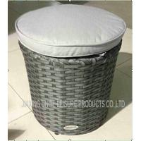 Wholesale Weatherproof Garden Rattan Furniture Stool For Indoor / Outdoor Use from china suppliers