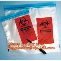 Wholesale Biohazard garbage/trash bag for infecciosas/hospital use, biohazardous waste bag from china suppliers