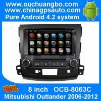 Wholesale Ouchuangbo Car Multi-touch Screen Pure Android 4.2 Auto DVD Radio Stereo for Mitsubishi Outlander 2006-2012 OCB-8063C from china suppliers