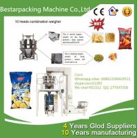 Wholesale 4 heads weigher vertical potato chip filling machine from china suppliers