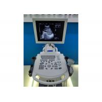 Quality High Resolution 15 Inch LED Fully Digital Trolley Ultrasound Scanner for sale