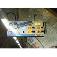 Wholesale High Definition Panel Mount Electronic Information System For Paris Metro Line 13 from china suppliers