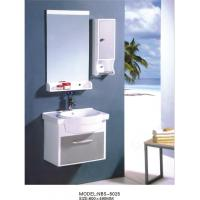 Wholesale PVC bathroom vanity / wall cabinet / hanging cabinet / white color for bathroom 60 X49/cm from china suppliers