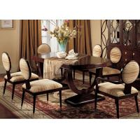 Buy cheap Custom Luxury Dining Room Furniture Sets 180cm Wood Rectangular Dining Table from wholesalers