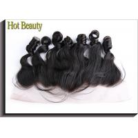 Wholesale Ear to Ear Lace Top Closure Natural Black 1b# Loose Wave Brazilian Remy Hair from china suppliers