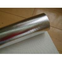 Wholesale 110g Aluminum Foil Fiberglass Cloth / Glass Fibre Fabric from china suppliers
