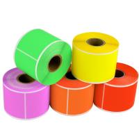 Wholesale Thermal Paper Self Adhesive Sticky Labels Test And Tag Heat Resistant Anti Fake from china suppliers