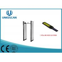 Wholesale Safty Door Frame Metal Detector 6 Zones / Multiple Zones For Exhibition Center from china suppliers