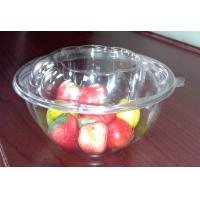 Buy cheap 32oz 950ml PET Round Disposable Salad Bowls Clear For Ice Cream from wholesalers