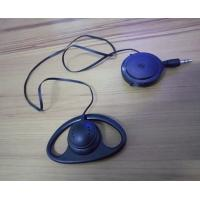 Wholesale Single ear headphone single-side earphone with retractable cable from china suppliers