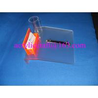 Wholesale Frosted acrylic desktop calendar stand with name card holder & pen holder from china suppliers