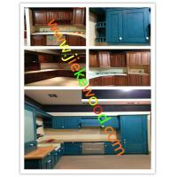 Wholesale sell solid kitchen cabinets from china suppliers