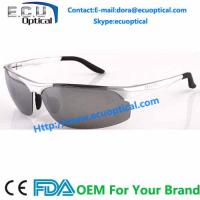 Wholesale 2014 New Fashion Aluminum-Magnesium Frame Night-Vision Polarized Driving Sunglasses from china suppliers