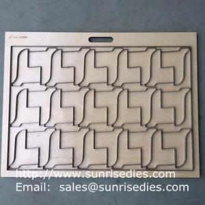 Wholesale Foam Sponge Steel Cutter Making, Tailor Made Steel Rule Dies for Foam Sponge cutting from china suppliers