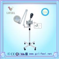 Wholesale 3 in 1 portable facial steamer with magnifying lamp with stand for home use salon use from china suppliers