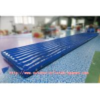 Wholesale Air Floor Gymnastics Inflatable Tumble Track 0.55mm PVC For Outdoor Game from china suppliers