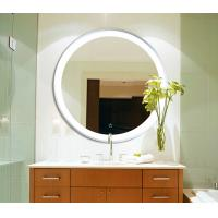 Wholesale LED Circular Frameless Bathroom Wall Mirrors Hanging Waterproof With Lights from china suppliers