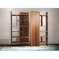 Wholesale 2017 New walnut wood Bespoke Furniture Storage Cabinet Display Shelves with Glass door from china suppliers