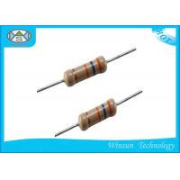 Wholesale High Precision Carbon Film Resistor 1 Ohm 5 Watt Resistor With Epoxy Resin Coating from china suppliers
