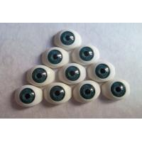 Wholesale ODM Glamour BJD Acrylic oval doll eyes, 8mm-22mm size from china suppliers