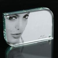 Wholesale hot sale curving transparent acrylic photo frame from china suppliers