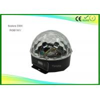 Wholesale 6 Colors Dmx Crystal LED Magic Ball Light Violet Color Plastic Shell from china suppliers