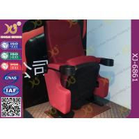 Wholesale Automatic Return PP back Movie Theater Chairs Floor Fixed With Folding Cupholder from china suppliers