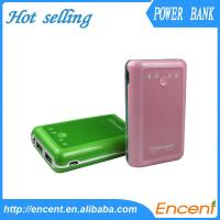 Wholesale Manufacturer Portable Long Lasting 6600mah Power Bank For All Digital Products from china suppliers