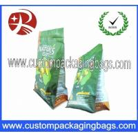 Wholesale Flat Bottom Zipper Top Cat Plastic Food Packaging Bag/Plastic Pet Food 8 Side Seal Pouch /Cat Litter Bag from china suppliers