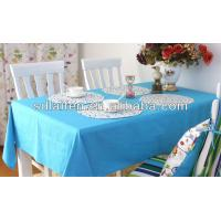 Quality Beautiful Waterproof 100% pp nonwoven fabric tablecloth for sale