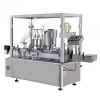 Wholesale Glass And Plastic Milk Bottle Liquid Filling Machine , Air Jet Bottle Washing Machine from china suppliers