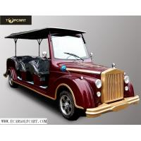 Wholesale 48V 8 Seater Electric Classic Car With Aluminum Chassis For Sightseeing from china suppliers