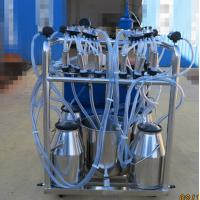 Quality Stainless Steel 4 Bucket Milking Machine With 1440 r / Min Motor Speed for sale