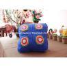 Buy cheap Blue Sofa Seat Crochet Cushion Cover Square Hand Crochet Car Seat Cushion Cover from wholesalers