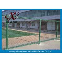 Wholesale Custom Green Fence Chain Link , Diamond Wire Mesh Strongly 1.8-4.5mm from china suppliers
