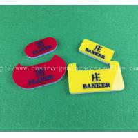Wholesale Acrylic Baccarat Portable Custom Dealer Button  Official Dealer Button from china suppliers