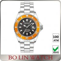 Wholesale Automatic Movement Deep Sea Diving Watches , 100ATM Sapphire Glass Watch from china suppliers