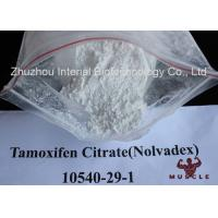 Wholesale White Crystalline Raw Steroid Powders Nolvadex Tamoxifen Citrate Bodybuilding CAS 54965-24-1 from china suppliers