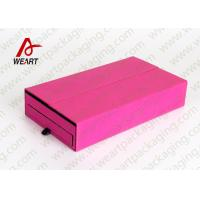 Wholesale Colored Cosmetic Paper Box Fabric Cardboard Cosmetic Packaging Customized Size from china suppliers