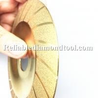 Wholesale Golden Diamond Cutting Blades Gringing Polishing tool for stone saw machine from china suppliers
