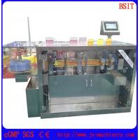 Quality small production medicine plastic ampoule bottle filing and sealing machine for sale