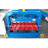 Wholesale 5.5KW Glazed Tile Roll Forming Machine , Roof Panel Forming Machine 0.3-0.8mm Thickness from china suppliers