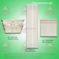 Wholesale Good Quality Polyurehtane Plane Roman Pillar for Decoration from china suppliers