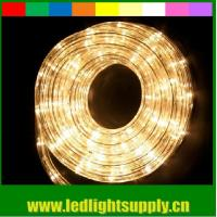 Wholesale warm white flexible led rope 12/24v 1/2'' 2 wire duralight ce rohs lights from china suppliers
