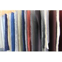 Wholesale Colored Dyed Linen and Organic Cotton Washed Fabric for Polo T Shirt Clothing from china suppliers