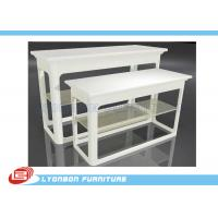 Wholesale Promotion White MDF Nesting Display Tables For Retail Stores / UV Painting from china suppliers