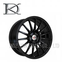 Quality Personalized Aluminum Racing Wheels 16 Spoke Black Chrome Rims Cool Styling for sale
